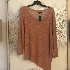 Lane Bryant asymmetrical long sleeve shirt 14/16